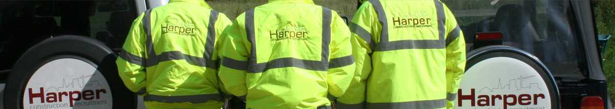 Register with Harper Construction Recruitment Hi Viz Jackets