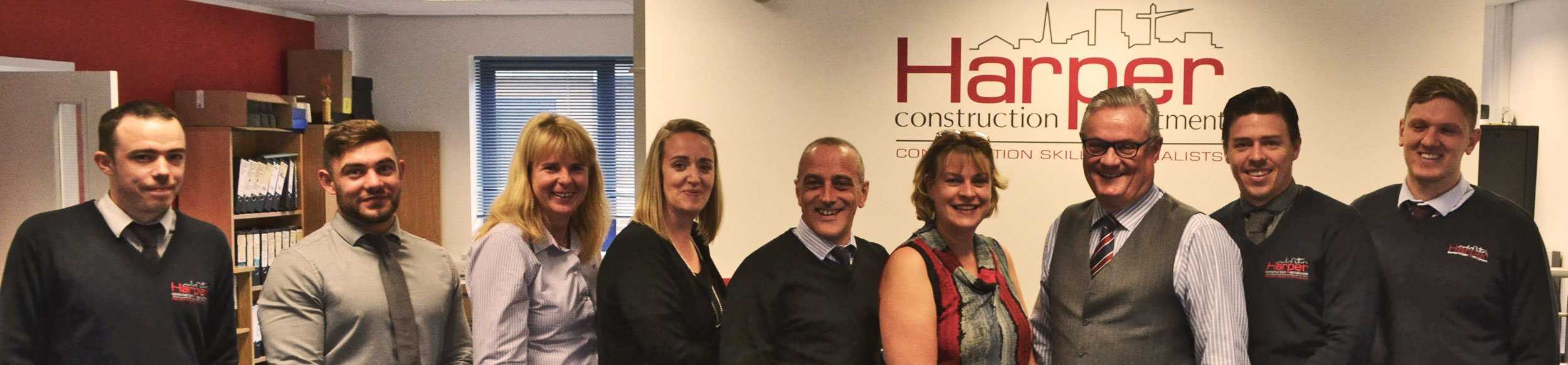 Contact Harper Construction Recruitment. The team